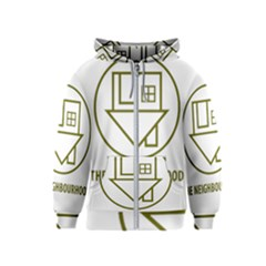 The Neighbourhood Logo Kids  Zipper Hoodie