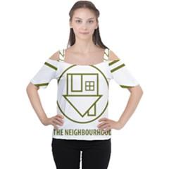The Neighbourhood Logo Cutout Shoulder Tee