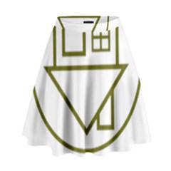 The Neighbourhood Logo High Waist Skirt