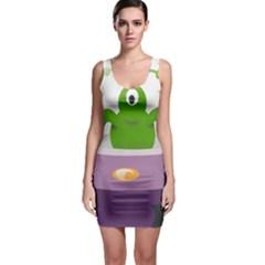 Ufo Bodycon Dress