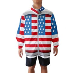 United Of America Usa Flag Wind Breaker (kids)
