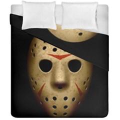 Jason Hockey Goalie Mask Duvet Cover Double Side (california King Size)