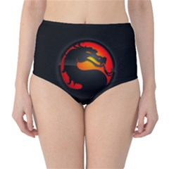 Dragon High Waist Bikini Bottoms