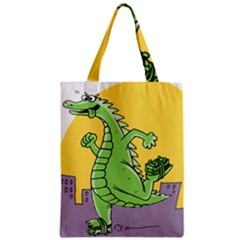 Dragon Zipper Classic Tote Bag