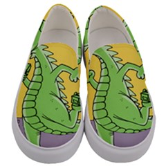 Dragon Men s Canvas Slip Ons