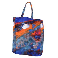 Abstract Acryl Art Giant Grocery Zipper Tote