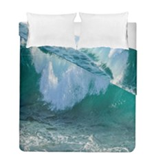 Awesome Wave Ocean Photography Duvet Cover Double Side (full/ Double Size)