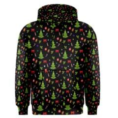 Christmas Pattern Men s Pullover Hoodie