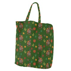 Thanksgiving Turkey  Giant Grocery Zipper Tote
