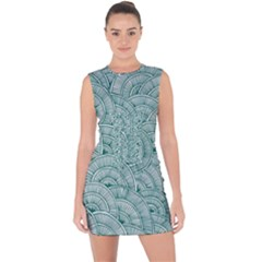 Design Art Wesley Fontes Lace Up Front Bodycon Dress