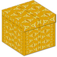 Fishes Talking About Love And   Yellow Stuff Storage Stool 12