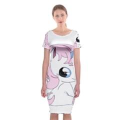 Baby Unicorn Classic Short Sleeve Midi Dress