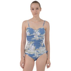 Nature Pattern Sweetheart Tankini Set