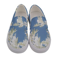 Nature Pattern Women s Canvas Slip Ons