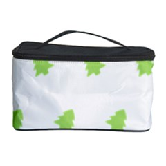Christmas Tree Green Cosmetic Storage Case