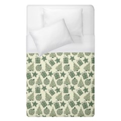 Christmas Pattern Gif Star Tree Happy Duvet Cover (single Size)
