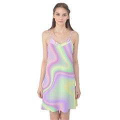 Holographic Design Camis Nightgown