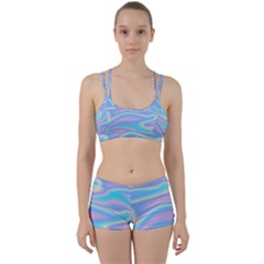 Holographic Design Women s Sports Set