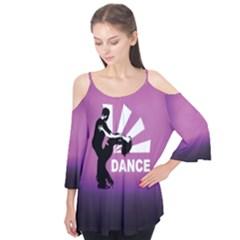Dance Flutter Sleeve Tee