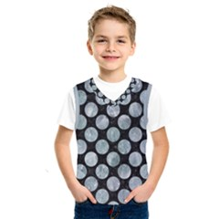 Circles2 Black Marble & Ice Crystals (r) Kids  Sportswear