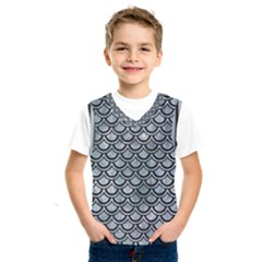 Scales2 Black Marble & Ice Crystals Kids  Sportswear