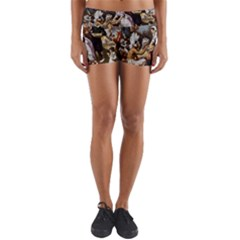 The First Thanksgiving Yoga Shorts