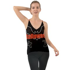 Halloween Bat Black Night Sinister Ghost Cami