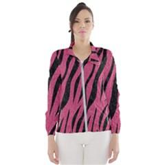 Skin3 Black Marble & Pink Denim Wind Breaker (women)
