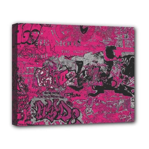 Graffiti Deluxe Canvas 20  X 16