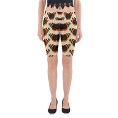 Butterfly Butterflies Insects Yoga Cropped Leggings