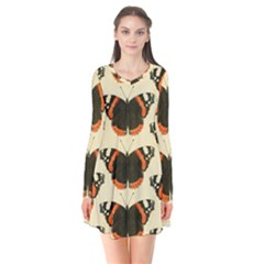 Butterfly Butterflies Insects Flare Dress