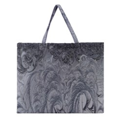 Abstract Art Decoration Design Zipper Large Tote Bag