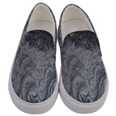 Abstract Art Decoration Design Men s Canvas Slip Ons