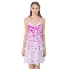 Halftone Dot Background Pattern Camis Nightgown