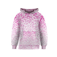 Halftone Dot Background Pattern Kids  Pullover Hoodie