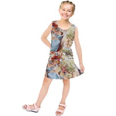 Seamless Vintage Design Kids  Tunic Dress