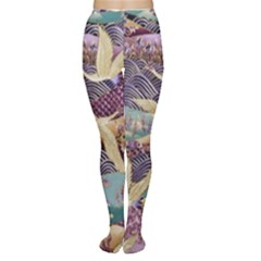 Textile Fabric Cloth Pattern Women s Tights