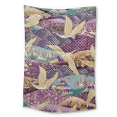 Textile Fabric Cloth Pattern Large Tapestry