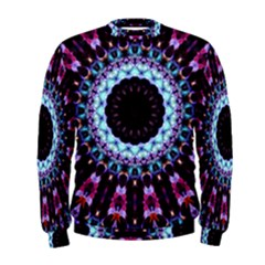 Kaleidoscope Shape Abstract Design Men s Sweatshirt