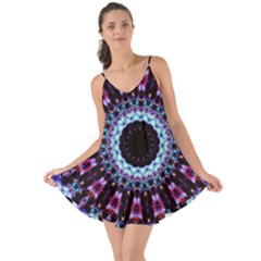 Kaleidoscope Shape Abstract Design Love The Sun Cover Up