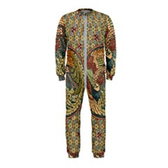 Wings Feathers Cubism Mosaic Onepiece Jumpsuit (kids)
