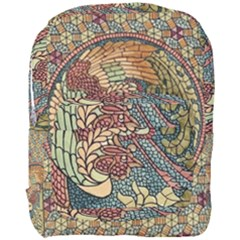 Wings Feathers Cubism Mosaic Full Print Backpack