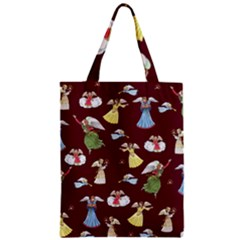 Christmas Angels  Zipper Classic Tote Bag
