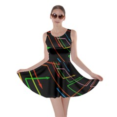 Arrows Direction Opposed To Next Skater Dress