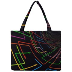 Arrows Direction Opposed To Next Mini Tote Bag