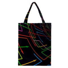 Arrows Direction Opposed To Next Classic Tote Bag