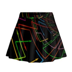 Arrows Direction Opposed To Next Mini Flare Skirt