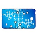 Block Chain Data Records Concept Samsung Galaxy Tab 4 (7 ) Hardshell Case  View1