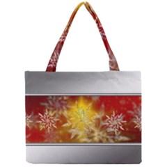 Christmas Candles Christmas Card Mini Tote Bag
