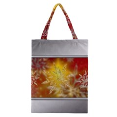 Christmas Candles Christmas Card Classic Tote Bag